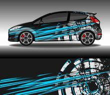 Wrap Car Decal Design Vector, ...