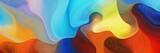 poziome kolorowe abstrakcyjne tło fala z peru, cegły szamotowej i lekkich morskiej zieleni. może służyć jako tekstura, tło lub tapeta