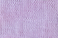 Violet Or Purple Knitted Textu...