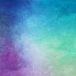 Colorful background in blue purple and green with white grunge texture in abstract background design