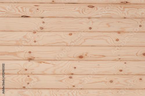 Fotografia Natural background pattern of a log wall
