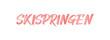 web Sport Label Skispringen