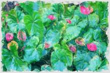Digital Oil Painting Illustrat...