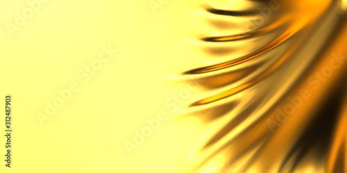 金色のドレープのCG Canvas-taulu