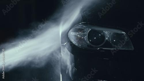 Stampa su Tela Car headlight wash