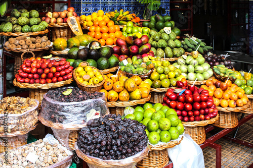 Photo Fruits exotiques - Funchal / madère (Mercado dos Lavradores)