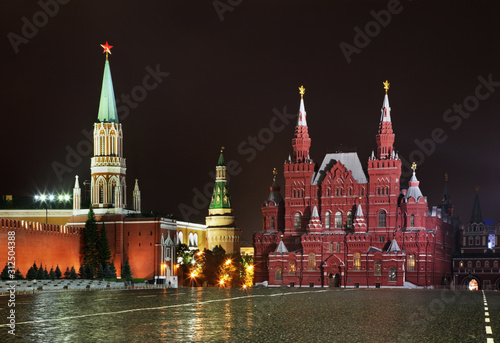 Red square in Moscow. Russia © Andrey Shevchenko