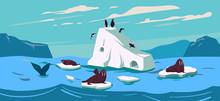 Arctic. Northen Landscape With...