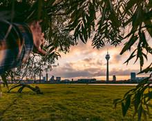 Düsseldorf, Germany Skyline D...