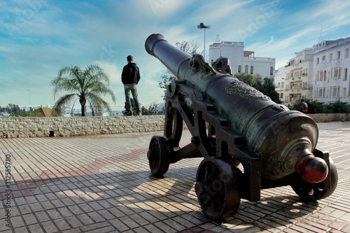 Patrząc z Tangeru na Europę