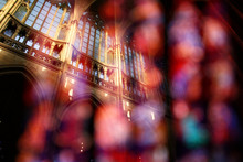 Abstract View Of Cathedral – Double Exposure