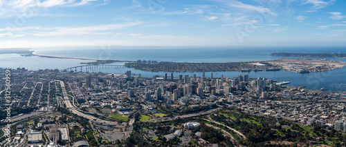 Obraz San Diego Skyline - fototapety do salonu