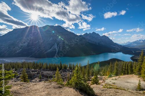Fotografia Gorgeous Peyto Lake