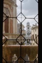 View Through Old Window