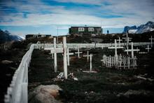 Cemetery In Remote Small Village