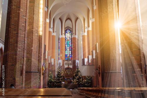 Obraz interior of church - fototapety do salonu