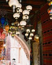 Very Beautiful Multi-colored Turkish Glass Lamps