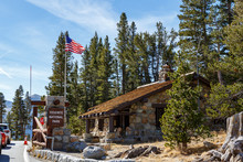 Yosemite National Park Entrance