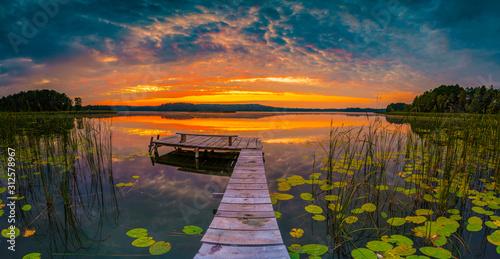 panorama-of-beautiful-sunrise-over-lake