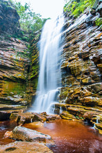 Little Waterfall In Brazilian ...