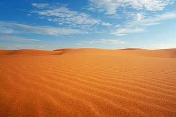 sand dune in the sahara desert