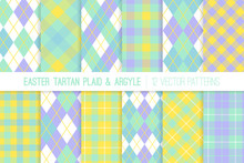 Easter Tartan Plaid And Argyl...