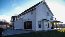 Modern Farmhouse - James Hardie Fiber Cement