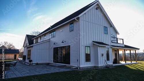 Valokuvatapetti Modern Farmhouse - James Hardie Fiber Cement