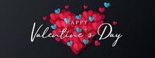 Happy Valentine's Day Banner. ...