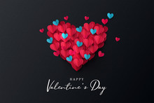 Happy Valentine's Day Banner. ...