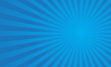 Blue Sunburst Pattern Backgrou...