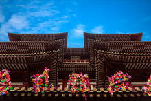 China Town Singapore, 17 April 2017 : Buddha Tooth Relic Temple And Museum At China Town