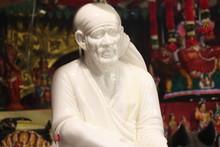 Abisheka For Idol Of Shirdi Sai Baba