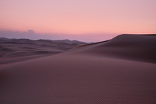Abstract View Of Sand Dunes In...