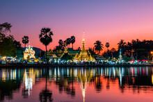 Wat Chong Kham, Mae Hong Son, Thailand.