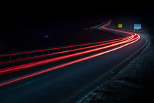 Highway Long Exposure Vehicle ...