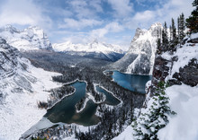 Opabin Plateau With Canadian R...