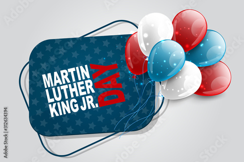 Martin Luther King Day Jr Canvas-taulu