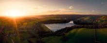 Beautiful Aerial Panorama View...