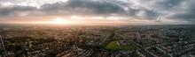 Beautiful Aerial Panorama Of C...