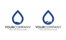 Save Water For Logo Design Vec...