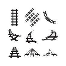 Railway Icon Design Template V...