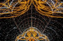Christmas Night Neon Glowing C...
