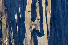 Climbers On El Capitan, Yosemi...