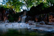 Hot Springs At Doi Pha Hom Pok National Park, Fang, Chiang Mai, Thailand.