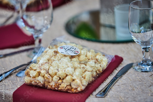 Photo Wedding Popcorn
