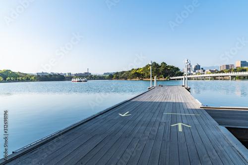Fotografía  公園の桟橋