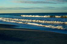 Large Crashing Waves On Bonita...