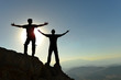 people succeeding together with harmonious teammate
