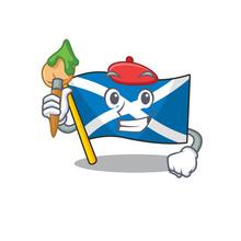 Funny Flag Scotland Scroll Art...